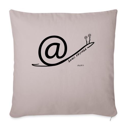 Snail Express - Cuscino da divano 44 x 44 cm con riempimento