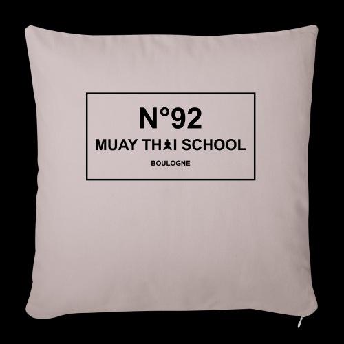 MTS92 N92 - Coussin et housse de 45 x 45 cm