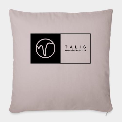 TALIS (2Quadrate) - Sofakissen mit Füllung 44 x 44 cm