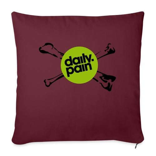daily pain cho kark - Poduszka na kanapę z wkładem 44 x 44 cm