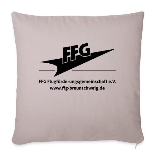 Logo_FFG_Weste - Sofakissen mit Füllung 44 x 44 cm