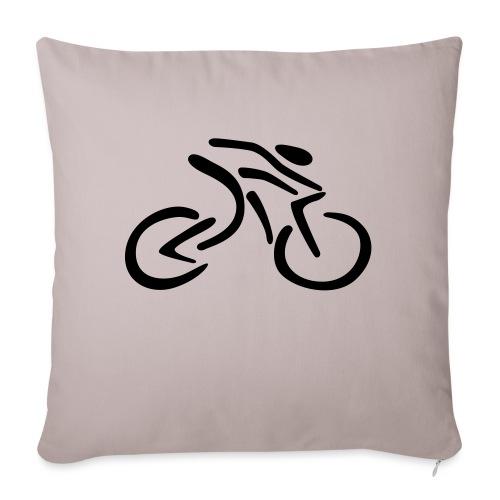fietsen - Bankkussen met vulling 44 x 44 cm