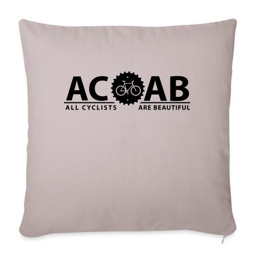 ACAB ALL CYCLISTS - Sofakissen mit Füllung 44 x 44 cm