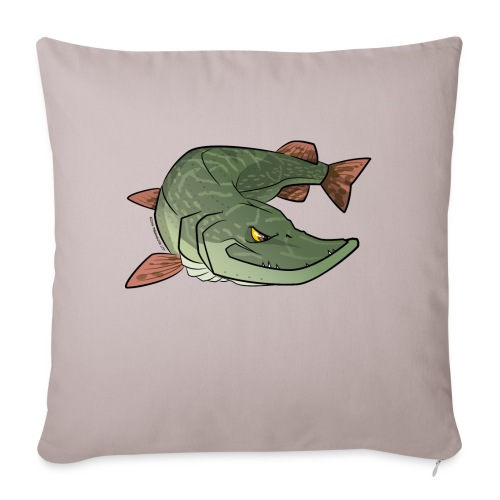 Red River: Pike - Sofa pillow with filling 45cm x 45cm