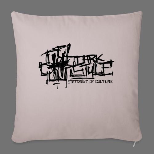 Tumma Style - Statement of Culture (musta) - Sohvatyynyt täytteellä 44 x 44 cm