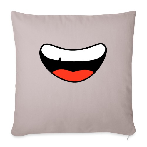 Colorful Smily Face - Sofa pillow with filling 45cm x 45cm