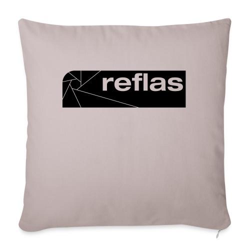 Reflas Clothing Black/Gray - Cuscino da divano 44 x 44 cm con riempimento