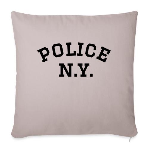 Police N.Y. - Sofakissen mit Füllung 44 x 44 cm