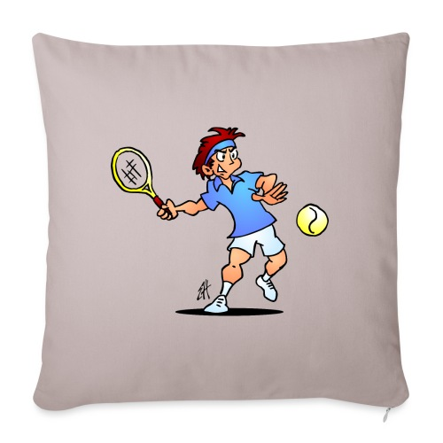 Tennis IV fc - Sofa pillow with filling 45cm x 45cm