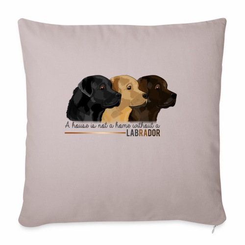 Labrador - Coussin et housse de 45 x 45 cm