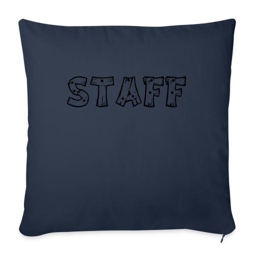 STAFF - Cuscino da divano 44 x 44 cm con riempimento