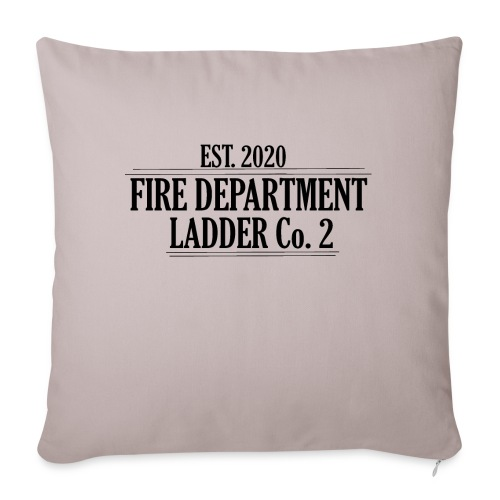 Fire Department - Ladder Co.2 - Sofapude med fyld 44 x 44 cm