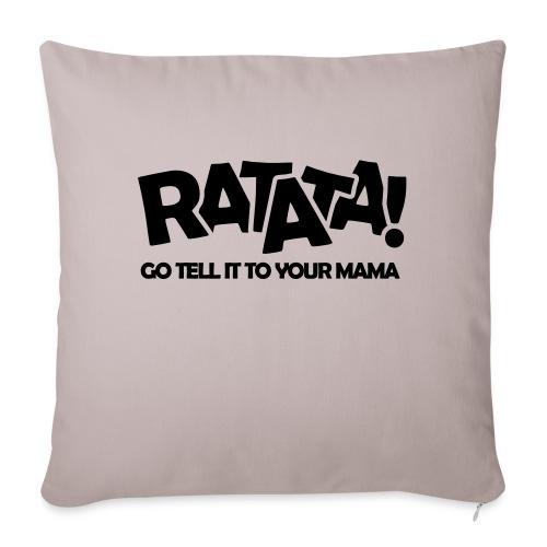 RATATA full - Sofakissen mit Füllung 44 x 44 cm