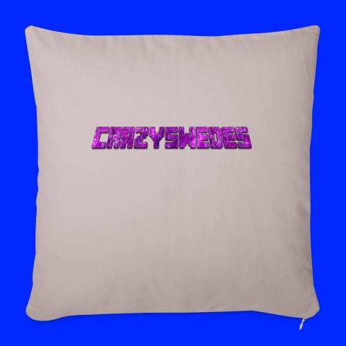 CrazySwedes PurpleThunder - Soffkudde med stoppning 44 x 44 cm