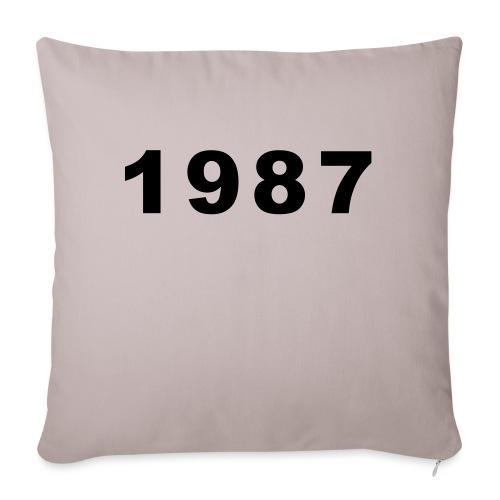 1987 - Bankkussen met vulling 44 x 44 cm