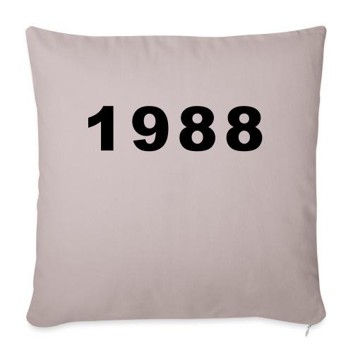 1988 - Bankkussen met vulling 44 x 44 cm