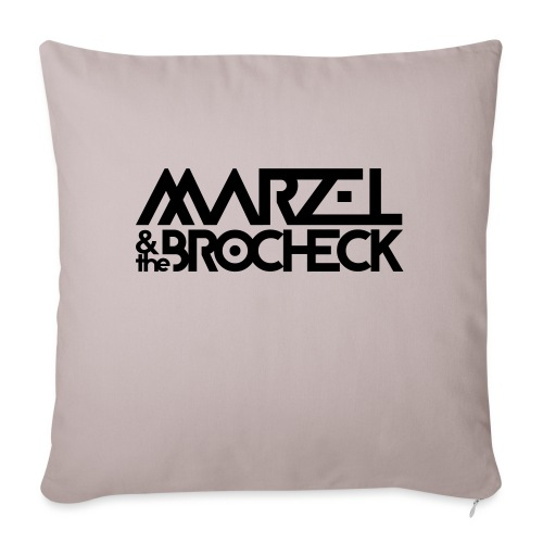 Marzel And The Brocheck - Sofakissen mit Füllung 44 x 44 cm