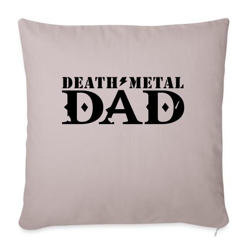 death metal dad - Bankkussen met vulling 44 x 44 cm