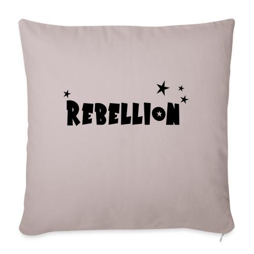 Rebellion - Sofakissen mit Füllung 44 x 44 cm