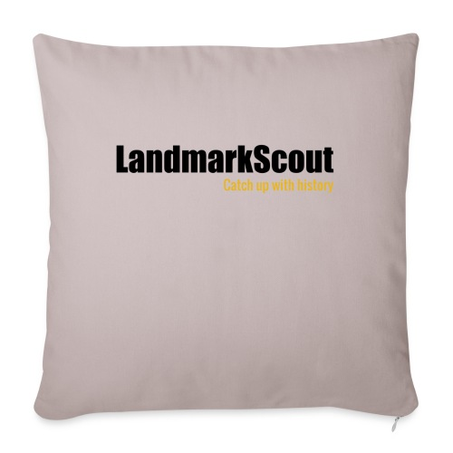 Tshirt White Back logo 2013 png - Sofa pillow with filling 45cm x 45cm