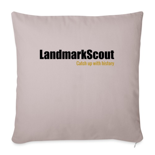 Tshirt Yellow Back logo 2013 png - Sofa pillow with filling 45cm x 45cm