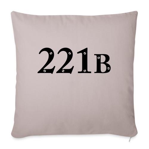 Sherlock Holmes - 221B - Sofakissen mit Füllung 44 x 44 cm