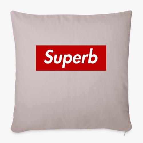 Superb - Sofakissen mit Füllung 44 x 44 cm