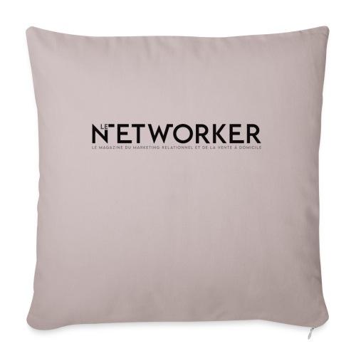 Networker - Coussin et housse de 45 x 45 cm