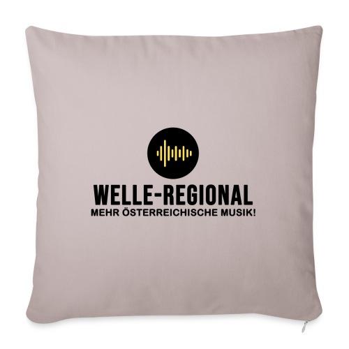 Das Logo von Welle-Regional! - Sofakissen mit Füllung 44 x 44 cm