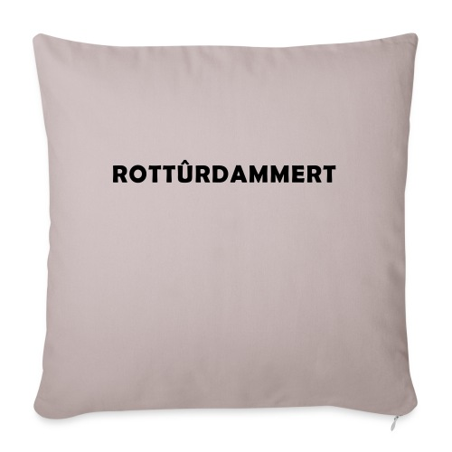 Rotturdammert - Bankkussen met vulling 44 x 44 cm