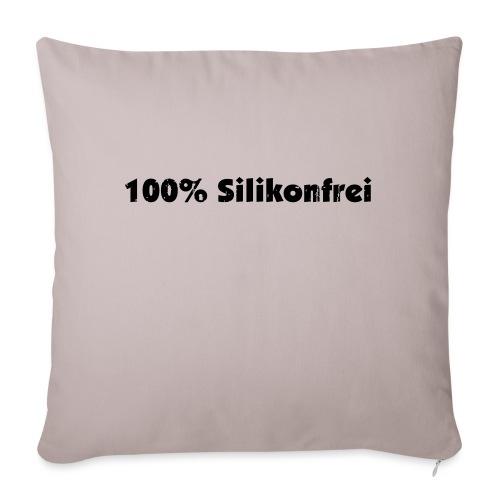 silkonfrei - Sofakissen mit Füllung 44 x 44 cm