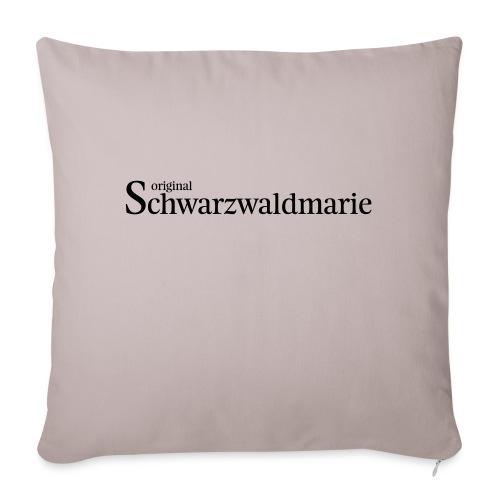 Schwarzwaldmarie - Sofakissen mit Füllung 44 x 44 cm