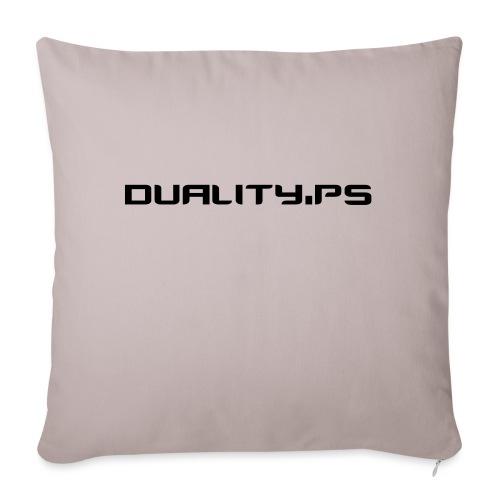 dualitypstext - Soffkudde med stoppning 44 x 44 cm