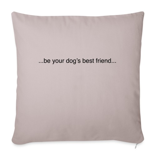 GoodBad svart CMYK (1) - Sofa pillow with filling 45cm x 45cm