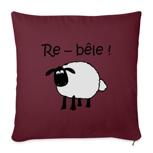mouton-re-bele - Coussin et housse de 45 x 45 cm