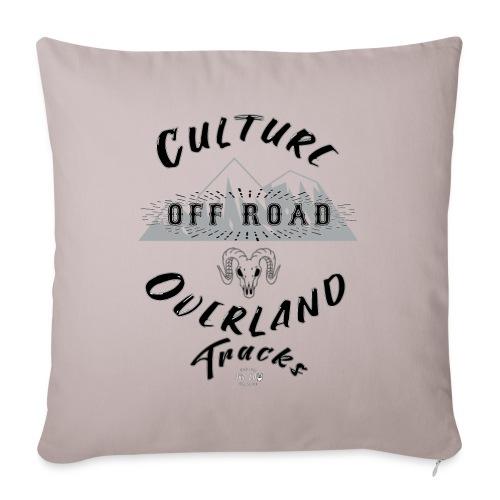Overland Culture - Cojín de sofá con relleno 44 x 44 cm