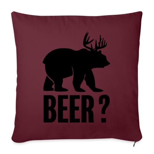 Beer - Coussin et housse de 45 x 45 cm