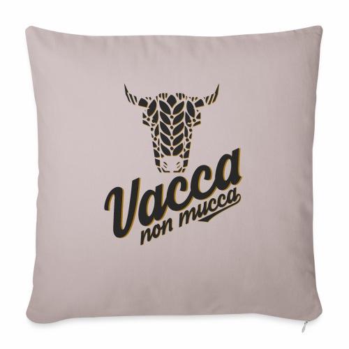 Vacca non mucca - Cuscino da divano 44 x 44 cm con riempimento