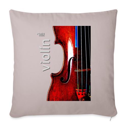 Violín i - Cojín de sofá con relleno 44 x 44 cm