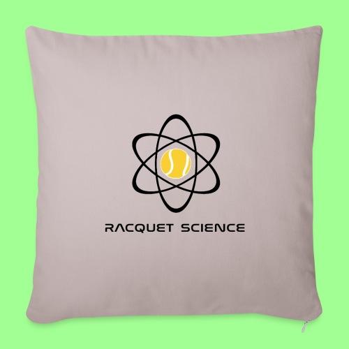 RACQUET SCIENCE - Poduszka na kanapę z wkładem 44 x 44 cm