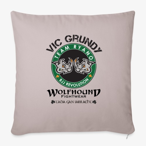 vic grundy back png - Sofa pillow with filling 45cm x 45cm