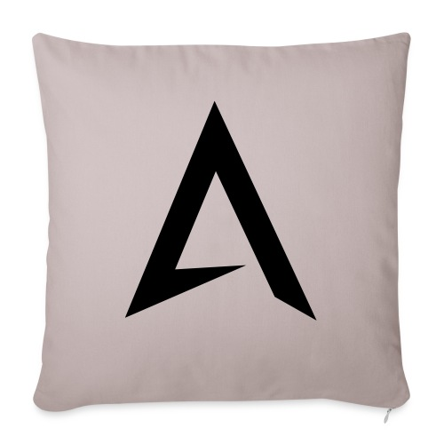 alpharock A logo - Sofa pillow with filling 45cm x 45cm