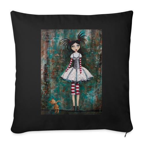 prinsess goth - Coussin et housse de 45 x 45 cm