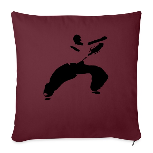kung fu - Sofa pillow with filling 45cm x 45cm