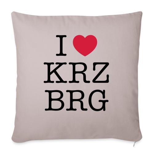 I love KRZBRG - Sofakissen mit Füllung 44 x 44 cm