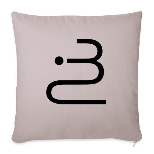 logobottega - Cuscino da divano 44 x 44 cm con riempimento