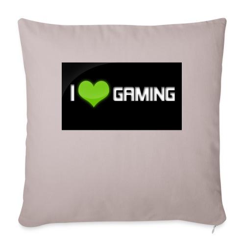 I Love Gaming Shadow Gamer - Sofakissen mit Füllung 44 x 44 cm