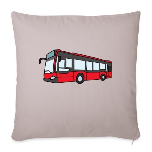Bus I - Sofakissen mit Füllung 44 x 44 cm