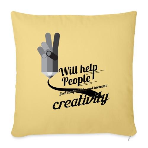 crati - Sofa pillow with filling 45cm x 45cm