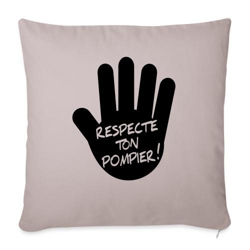 respect_ton_pompier - Coussin et housse de 45 x 45 cm
